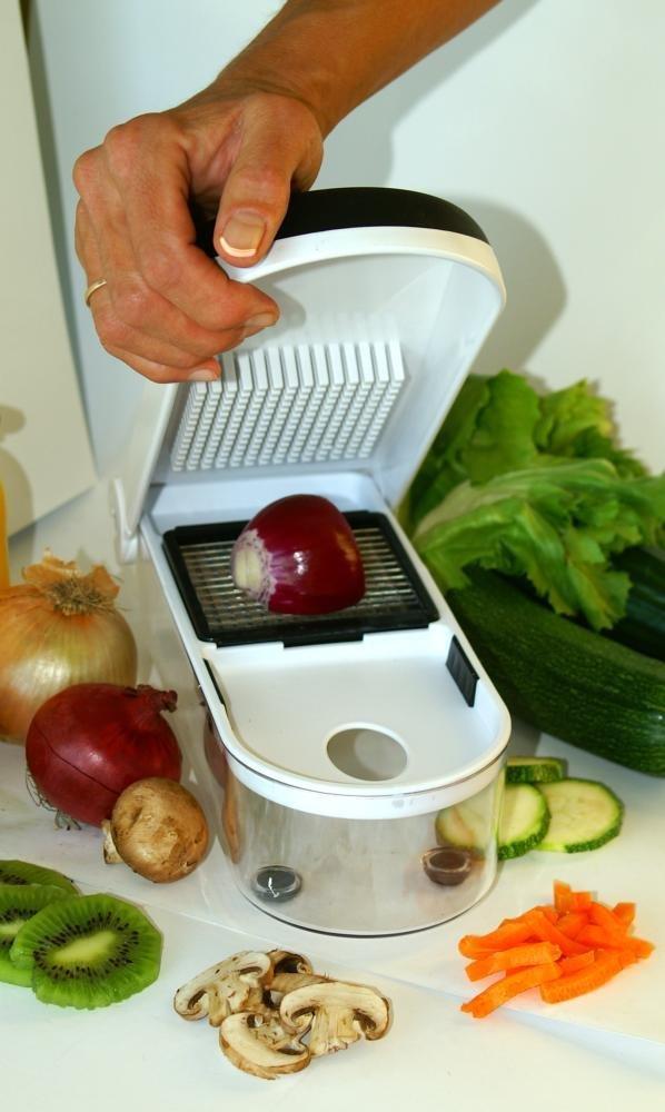 Jetzt Neu - Zwiebel & Früchte & Gemüseschneider im Einsatz